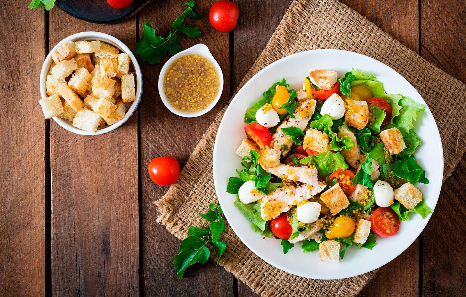 Mity Fresh Asian Citrus Chicken Salad