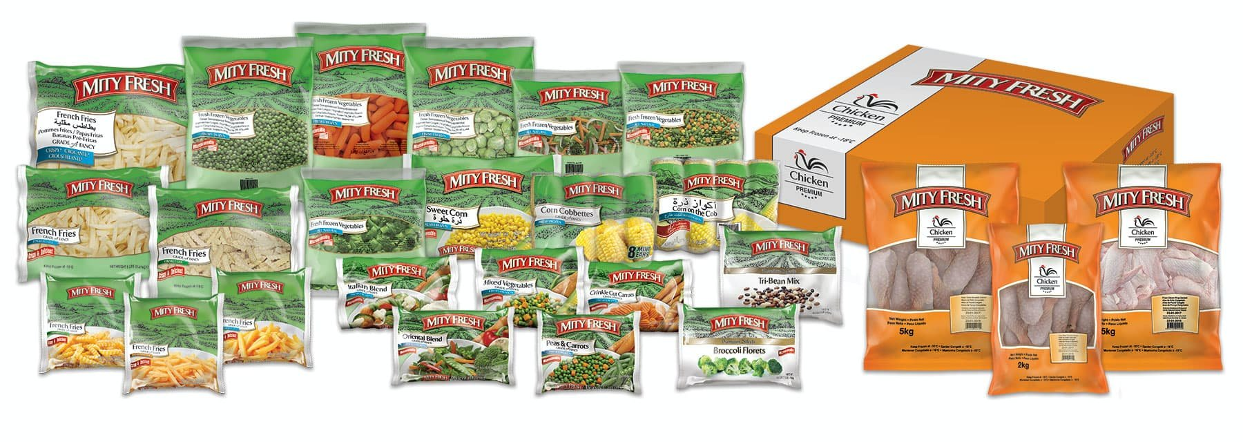 Mity Fresh line of products